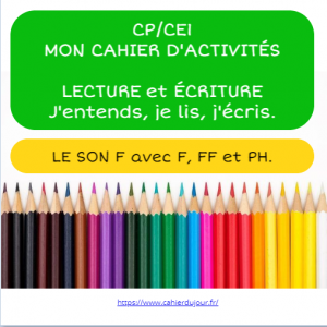 Book Creator LECTURE CP son F FF PH