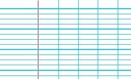 lecture écriture lignes seyès 4 mm