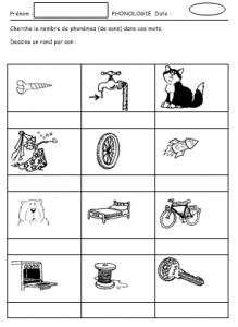 segmentation phonémique exercice 1