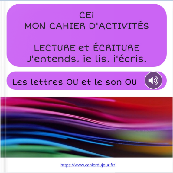 CE1 Bookcreator lecture écriture orthographe
