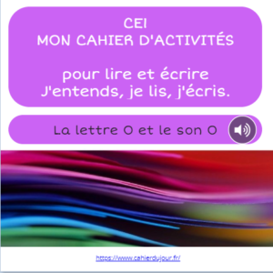 CE1 lecture écriture orthographe son O