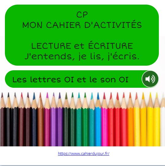 CP son OI bookcreator lecture écriture orthographe