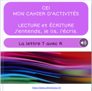 CE1 lecture écriture orthographe son TR