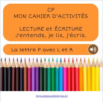 bookcreator CP PRL LECTURE