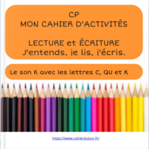 bookcreator CP son K avec C QU K