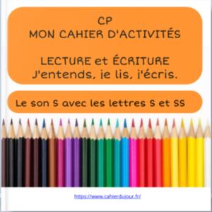 bookcreator CP son S avec S et SS