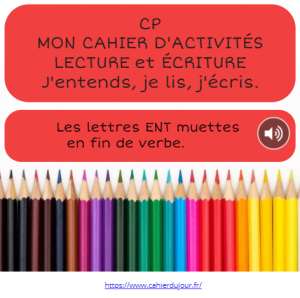 bookcreator CP lettres ENT muettes page 1