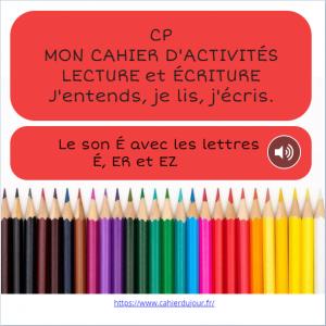 bookcreator CP son É avec É ER EZ