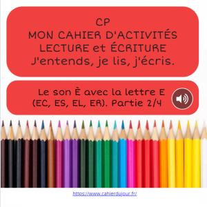 bookcreator CP son È avec ER EC EL ES