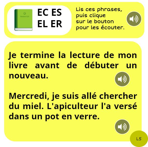 bookcreator CP son È avec ER EC EL ES page