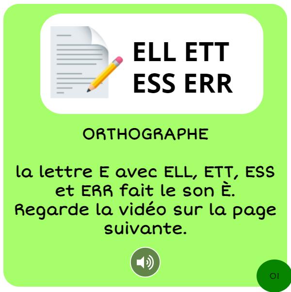 bookcreator CP son È avec ERR ESS ETT ELL page